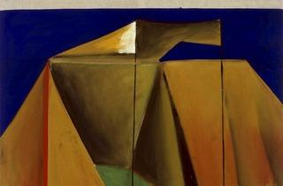 Markus Lüpertz ('Tent 9 – dithyrambic', 1965. Courtesy Michael Werner Gallery, London)