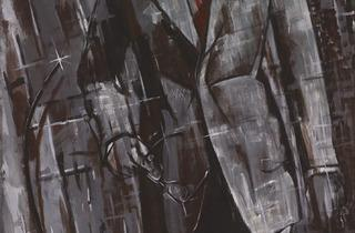 Markus Lüpertz (Man in Suit – dithyrambic I, 1976. Courtesy Michael Werner Gallery, London)