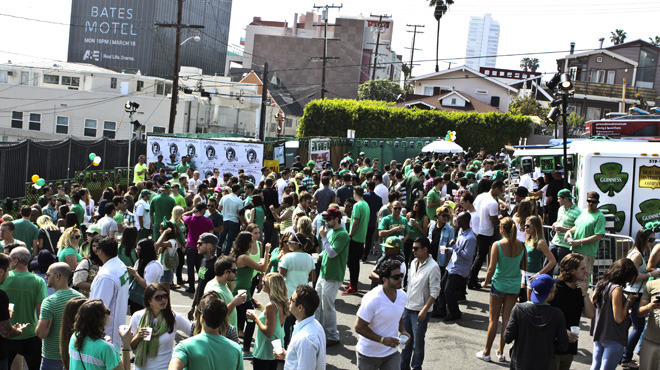 St. Paddy's Block Party.