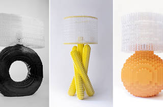 Tours Lamp, Matchstick Lamp and A Splash of Color, Orange, courtesy David Tracy.