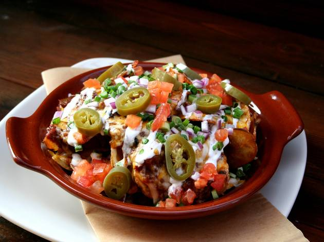Irish Nachos at Lazy Dog Restaurant & Bar