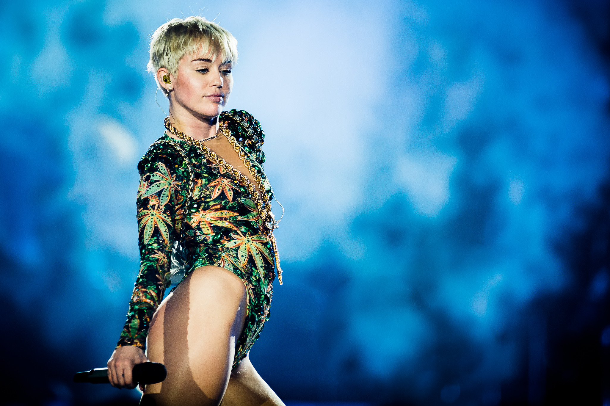 Miley Cyrus brings her Bangerz tour to Allstate Arena with openers Icona Pop, March 7, 2014.