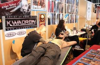 Mondial du Tatouage 2014 (© EP / Time Out Paris)