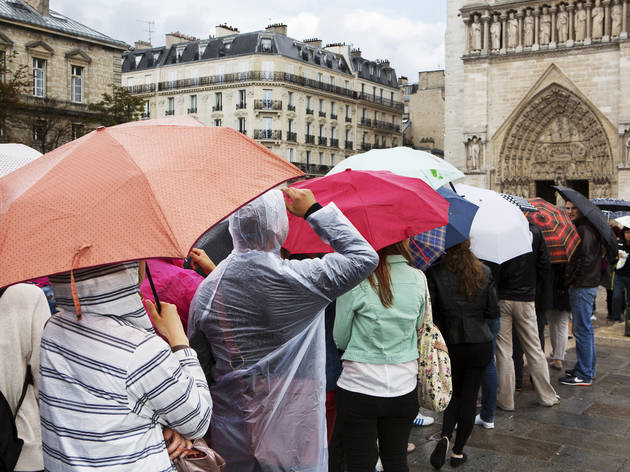 (Martin Parr, 'Paris, Notre-Dame', 2012 / © Martin Parr / Magnum Photos / Galerie Kamel Mennour)