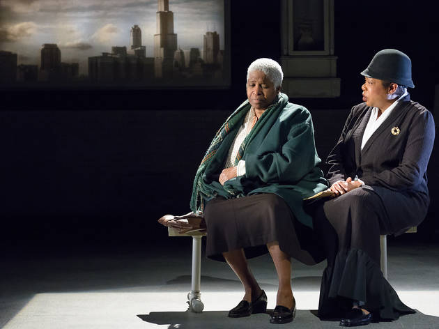 Cheryl Lynn Bruce and Jacqueline Williams in The Gospel of Lovingkindness at Victory Gardens Theater
