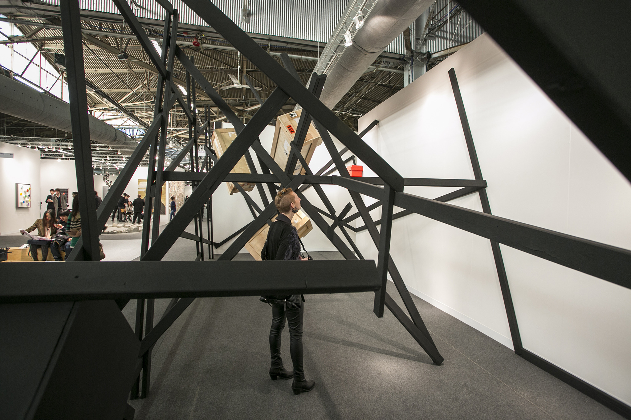 Take a peek inside the Armory Show 2014