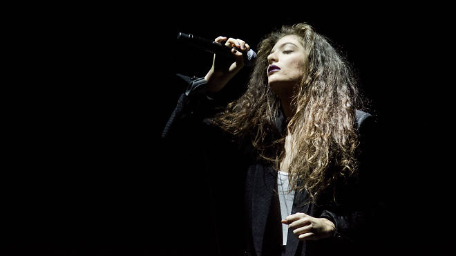 Lorde performs at Roseland Ballroom on March 10, 2014.
