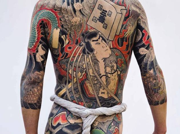 (Tatouage japonais traditionnel  / © Photo : Tatttooinjapan.com / Martin Hladik)