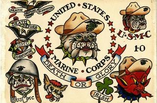 (Marine Corps, Bull Dog, Etats-Unis / © Collection Sailor Jerry T. )