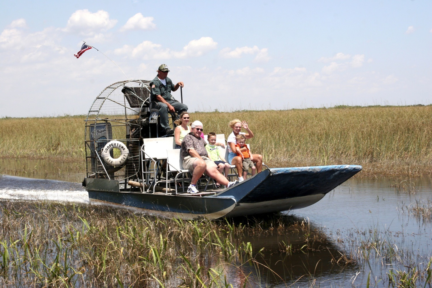 Coopertown Airboat Rides, Wildlife and attractions, The Everglades, Miami
