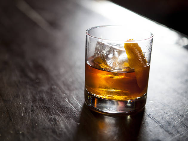 Old Fashioned at 4100 Bar
