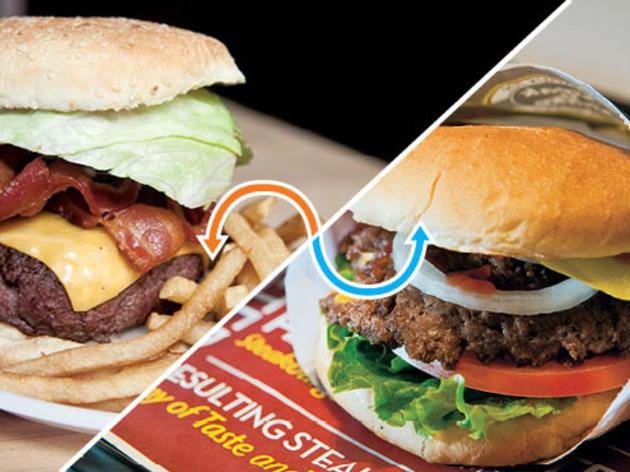 Burger: Corner Bistro / Steak 'n Shake Signature