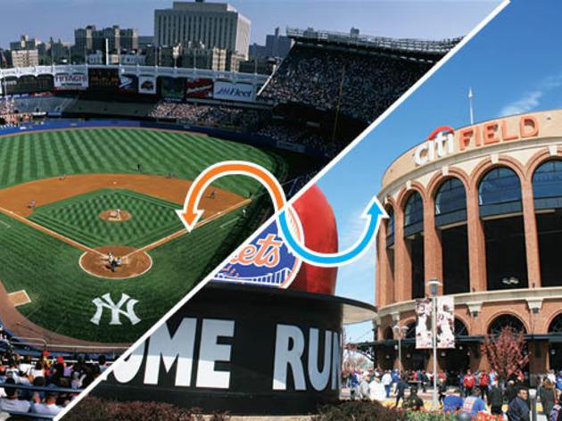 Baseball stadium: Yankee Stadium / Citi Field