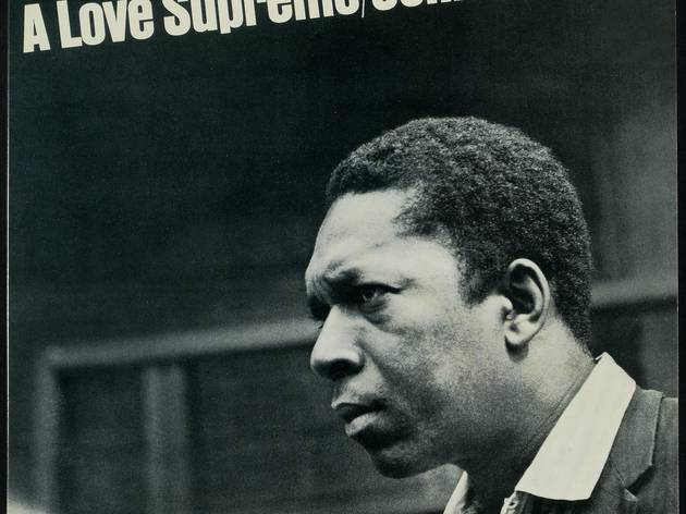 (John Coltrane, 'A Love Supreme', 1964 / © Impulse! Photo : Bob Thiele / Design : George Gray/Viceroy / Collection Philippe Ducat)