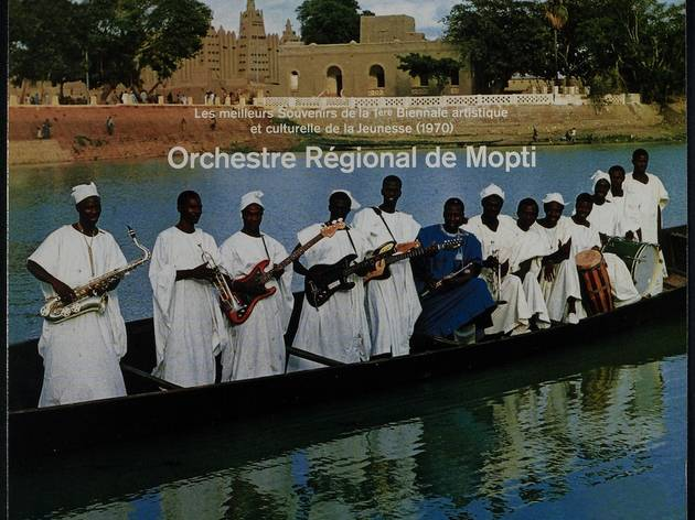 (Orchestre Régional de Mopti, 1970 / Collection Jean‐François Villetard)