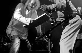 (Danyèl Waro et Firmin Viry, 1994 / © Nelson Navin)