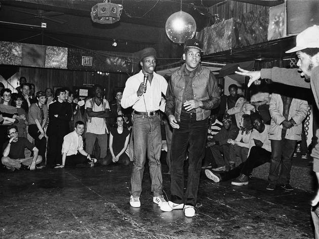(Cold Crush Brothers, 'Club Negril', 1981 / © Joe Conzo / Cornell University Library)