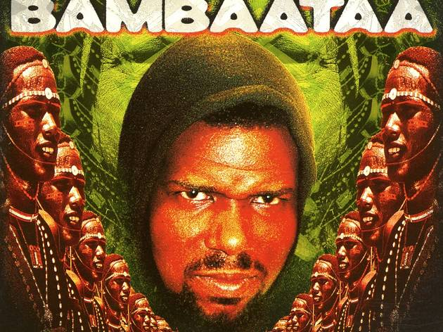 (Afrika Bambaataa, 'Zulu Nation War Chant', 1999 / © Eurotrend)