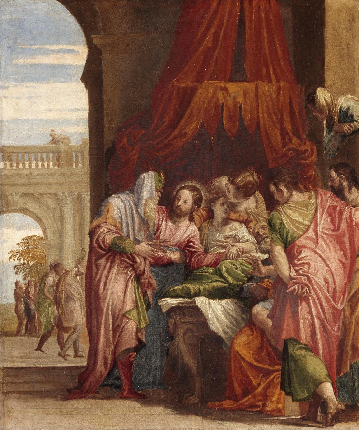'The Raising of the Daughter of Jairus', 1546