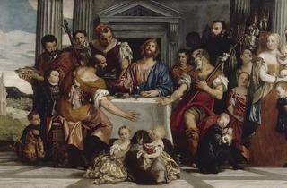 Paolo Veronese (1528-1588) ('The Supper at Emmaus', about 1555)