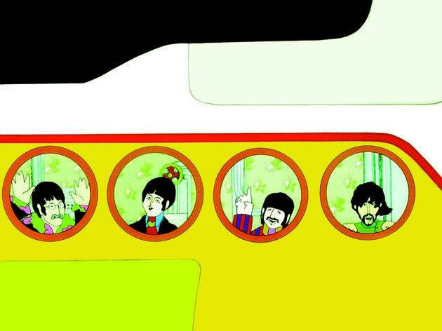 Best animation movies: Yellow Submarine
