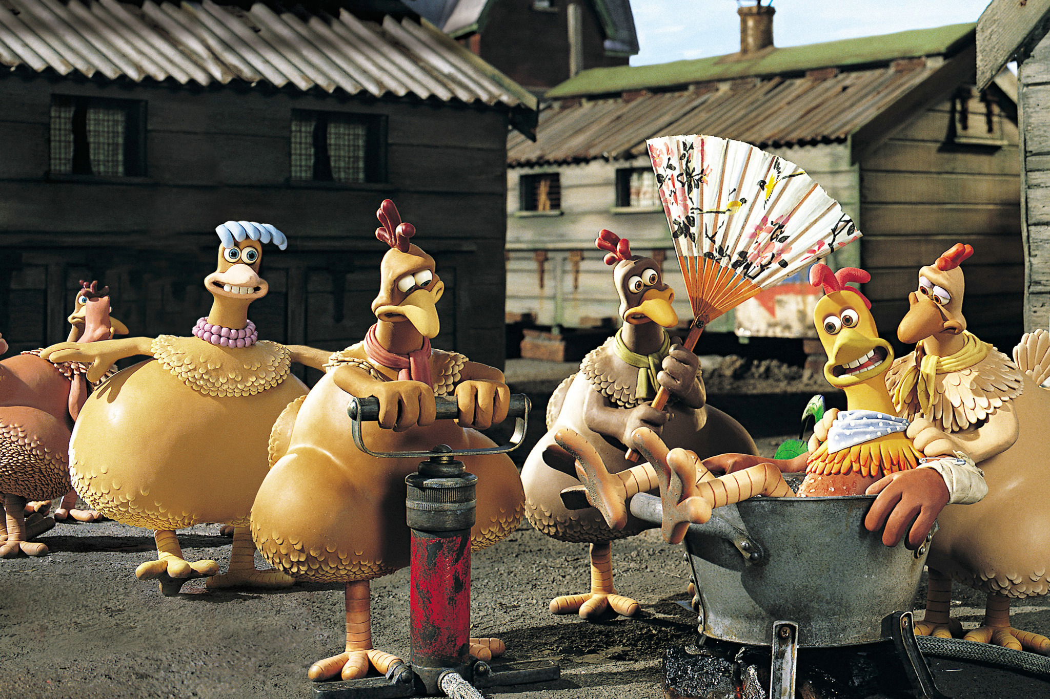 Best animation movies: Chicken Run