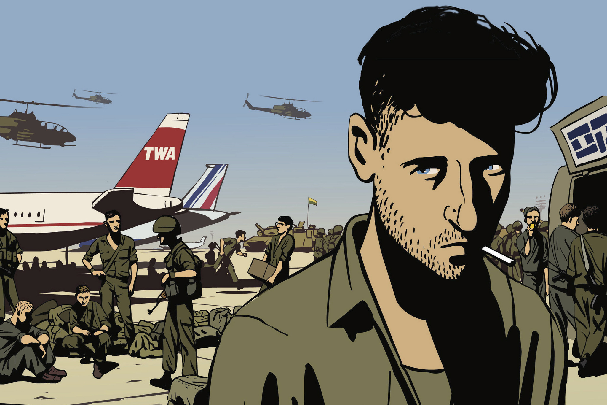 Best animated movies: Waltz With Bashir