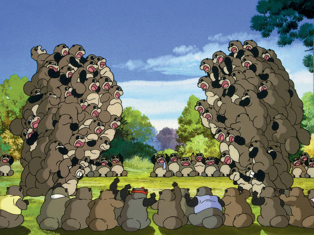 Best Studio Ghibli films: Pom Poko