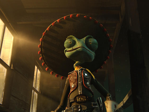 Best animation movies: Rango