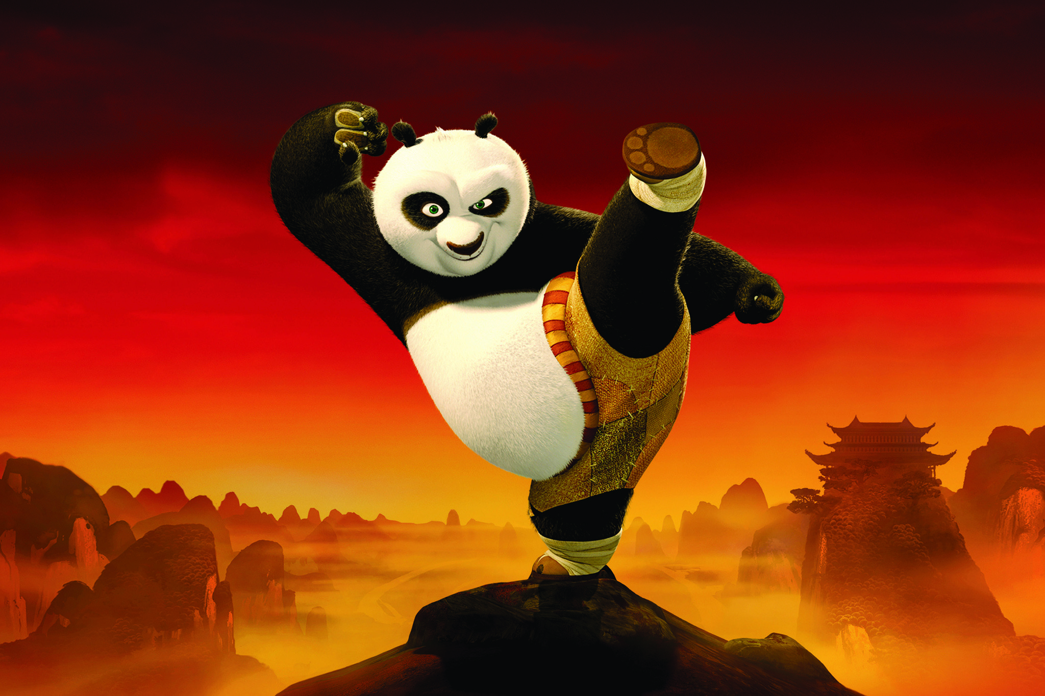 Best animation movies: Kung Fu Panda