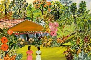 Two Women in the Garden  (© Rudi Patterson)