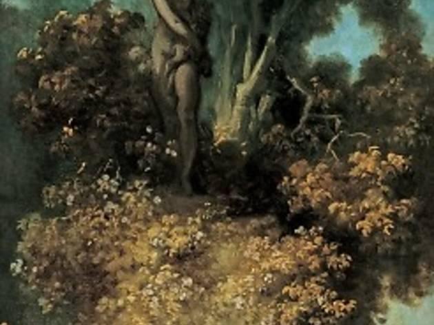 (Jean-Honoré Fragonard, esquisse pour 'La Surprise(L'Escalade)', c. 1771 / © Cliché musées d'Angers / Photo : P. David)
