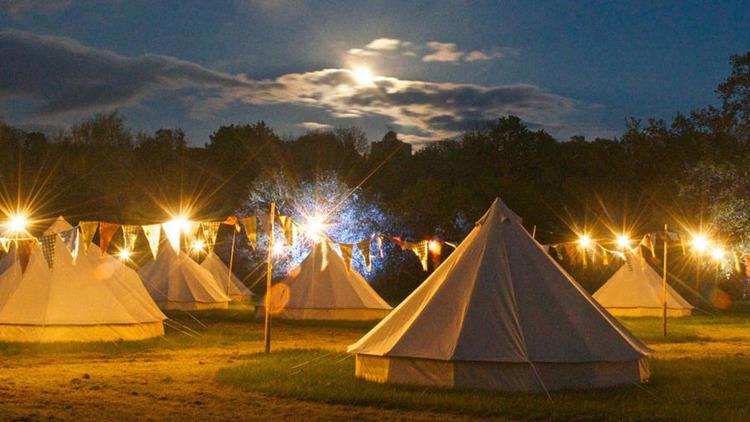 Blue Bell tents, Secret Garden Party