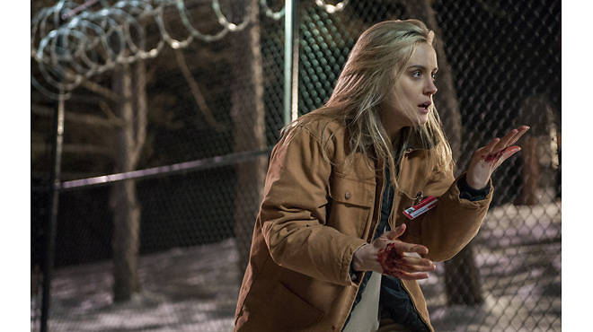 Taylor Schilling in a scene from Netflix's Orange Is the New Black, season two