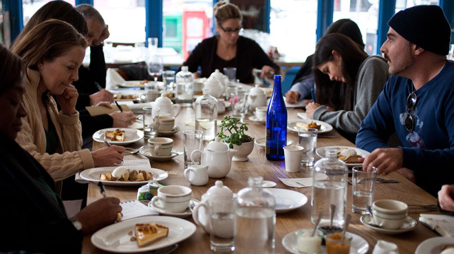 Literary Lunch at Calliope