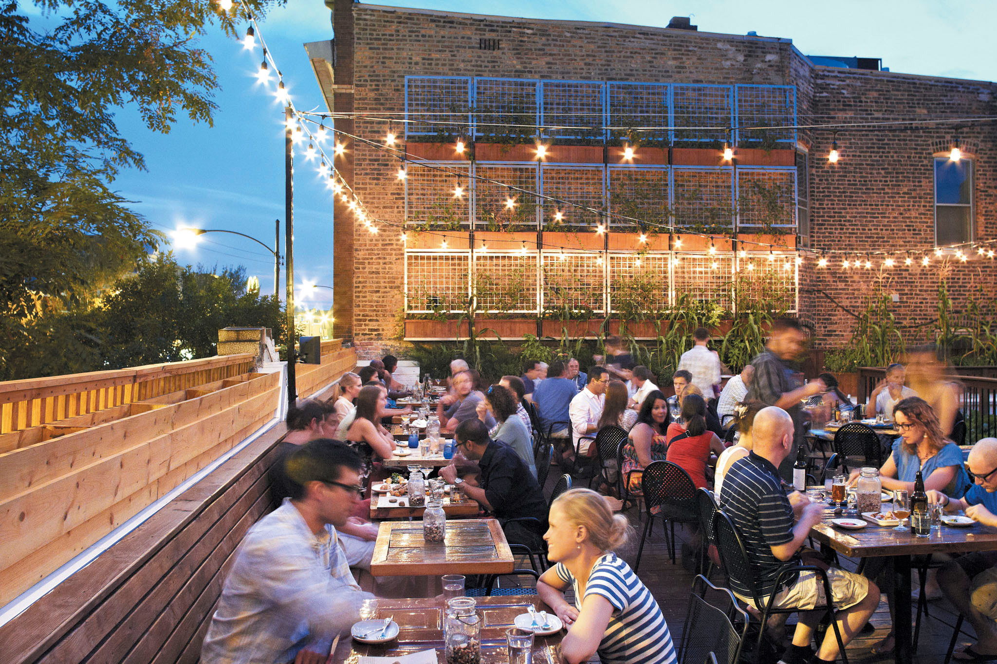 The best rooftop restaurants in Chicago
