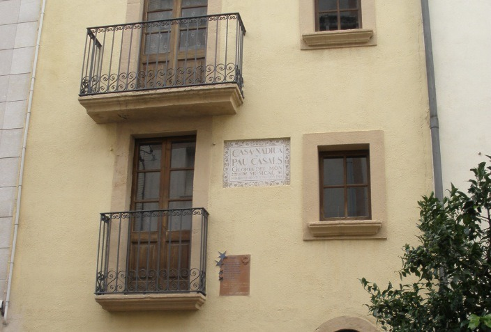 Pau Casals' birthplace
