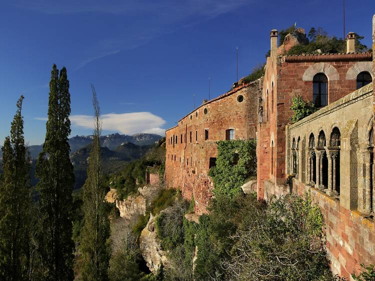 Castell Monestir d'Escornalbou