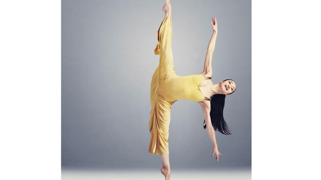 Xiaochuan Xie of the Martha Graham Dance Company performs Diversion of Angels