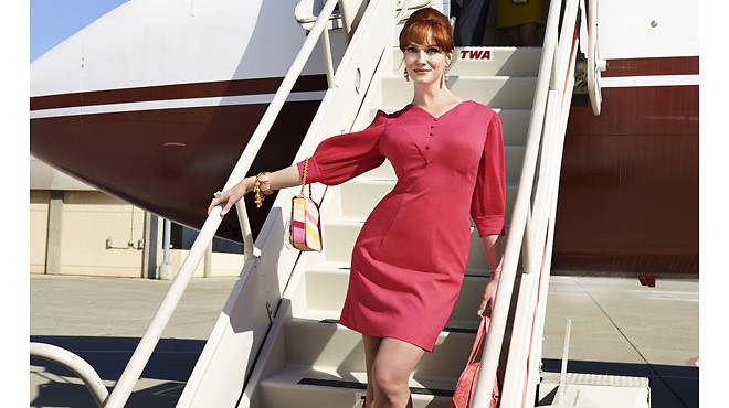 Joan Harris (Christina Hendricks) in Mad Men, season seven