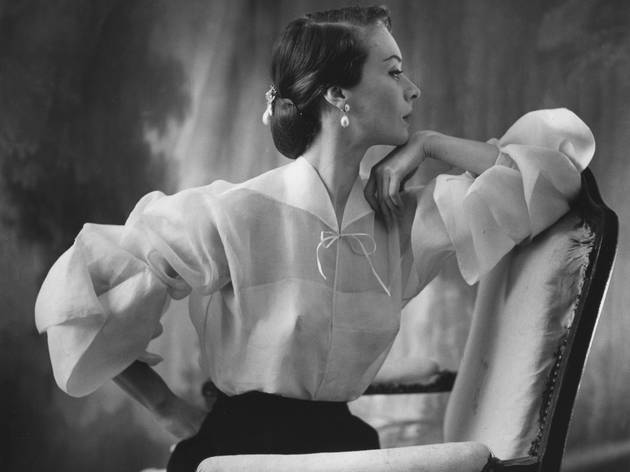 (Henry Clarke, 'Vogue' (Etats-Unis), mai 1951 (non publiée) / © Henry Clarke / Galliera)
