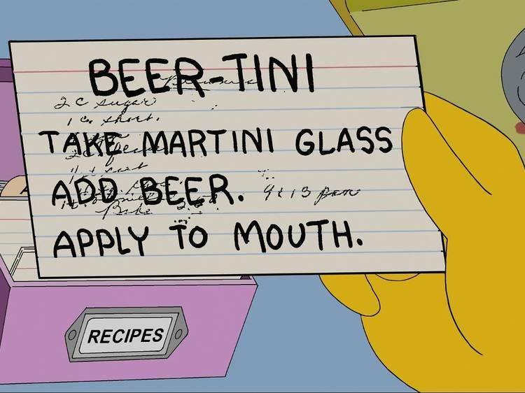 Huit cocktails à la bière