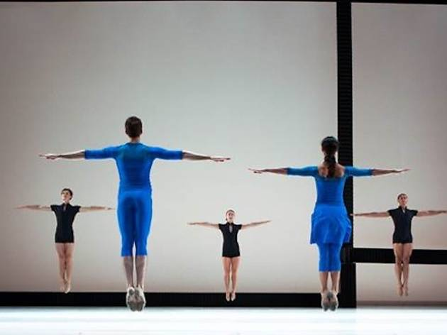 Jessica Lang Dance performing Lines Cubed