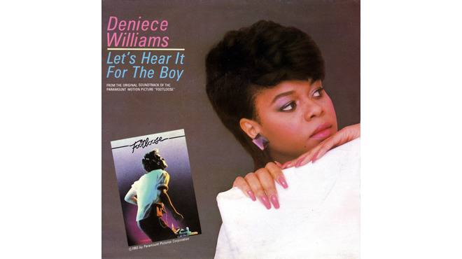"""Let's Hear It for the Boy"" by Deniece Williams (Footloose, 1984)"