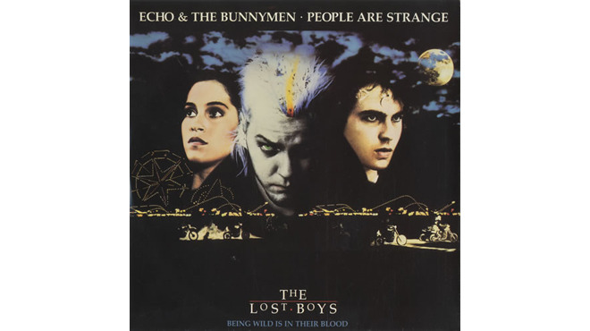 """People Are Strange"" by Echo & the Bunnymen (The Lost Boys, 1987)"