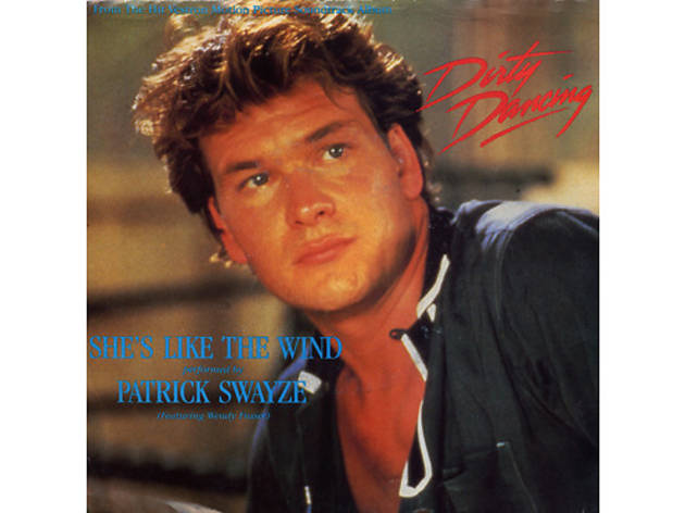 """She's Like the Wind"" by Patrick Swayze (Dirty Dancing, 1987)"