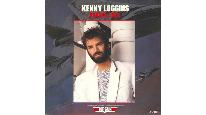 """Danger Zone"" by Kenny Loggins (Top Gun, 1986)"