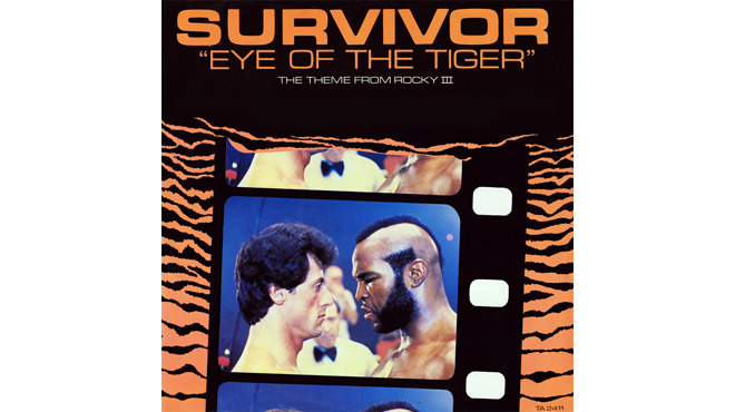 """Eye of the Tiger"" by Survivor (Rocky III, 1982)"
