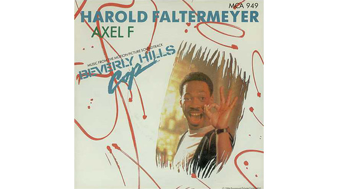 """Axel F"" by Harold Faltermeyer (Beverly Hills Cop, 1984)"