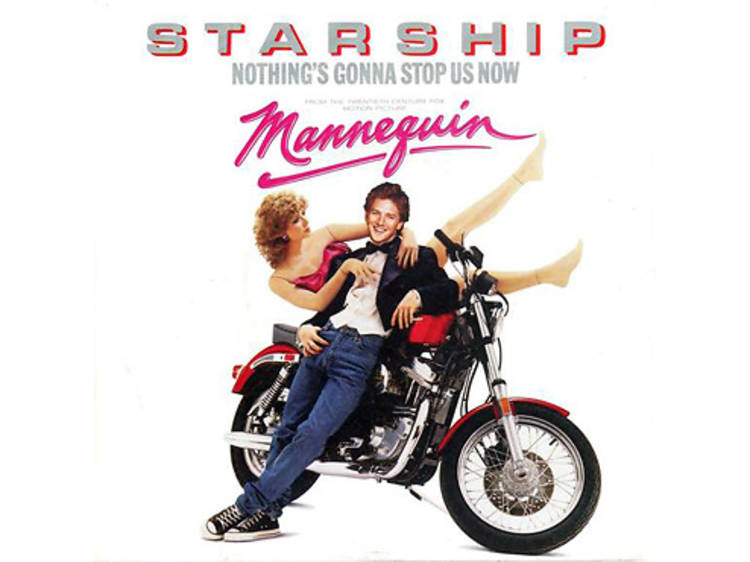 """""""Nothing's Gonna Stop Us Now"""" by Starship (Mannequin, 1987)"""
